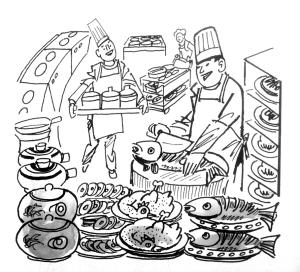 为千百个家庭准备年夜饭