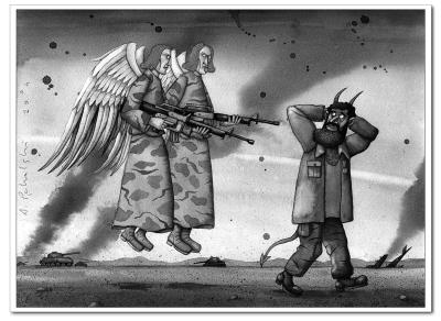 德国漫画家和插漫画亚当佩卡斯基继父的画家新娘图片