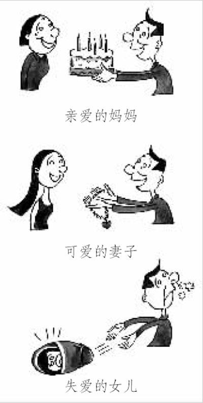 男女平等、少生婚育漫画作品选(优生漫画进万m虐新风抖图片