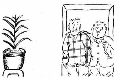 男人女人简笔画、-讽刺与幽默
