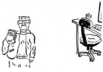 简笔画-讽刺与幽默