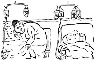 药瓶简笔画-讽刺与幽默