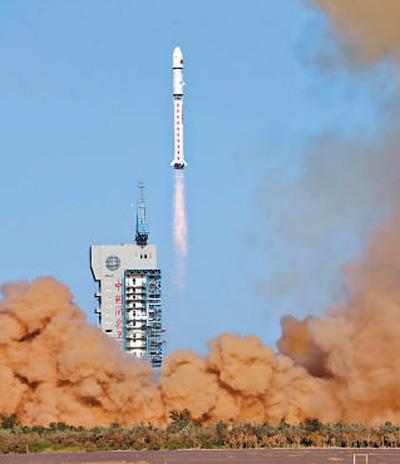 试验六号02星发射成功