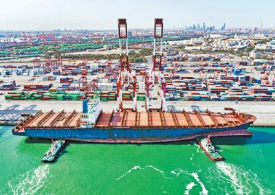 天津港再添一带一路新航线