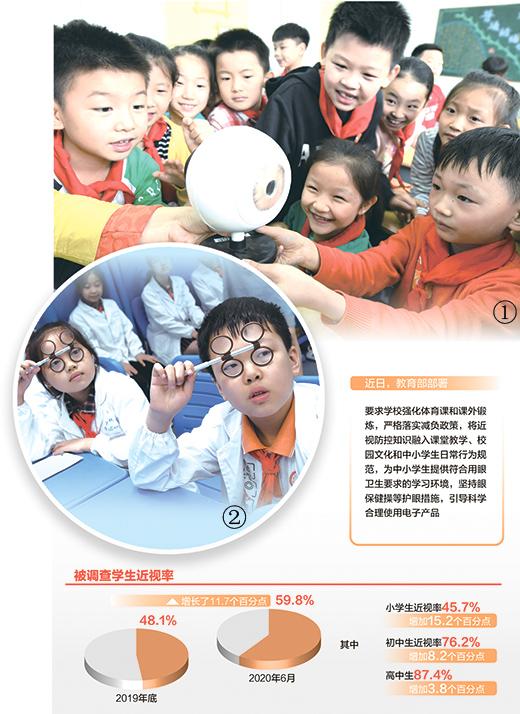 共同呵护孩子的眼睛(深聚焦)