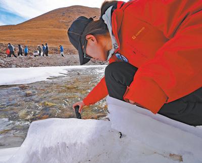觀測冰川 揭示自然奧秘