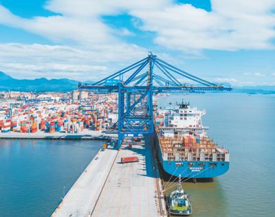老港口展现新活力