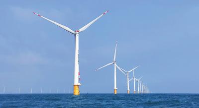 大灣區有了大容量海上風電場