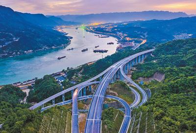 三峡翻坝江北高速即将通车
