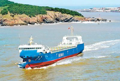 中国独自開発のスマート航行船舶、海上試験に成功
