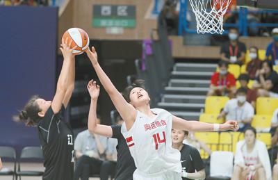 奥运联合队夺得女篮成年组冠军