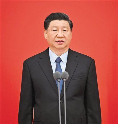 习近平向中国人民警察队伍授旗并致训词强调 对党忠…