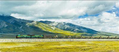 青藏铁路货运忙