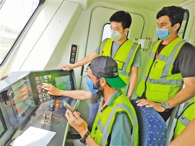 由中國企業承建的巴基斯坦地鐵正式開通運營