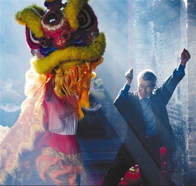 舞狮闹新春