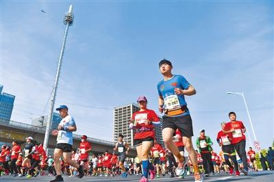 中国马拉松 跑进好年景--文旅・体育--人民网