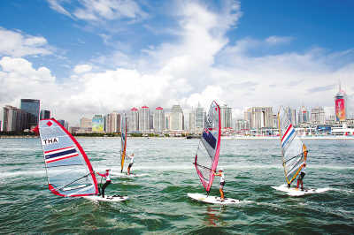 针对奥运会帆船比赛可能出现的71个风险,青岛进一步完善了应对预案