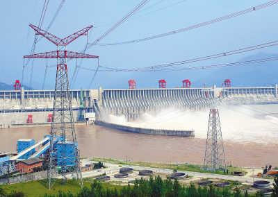 三峡电站月发电量首超百亿千瓦时插几把视频图片