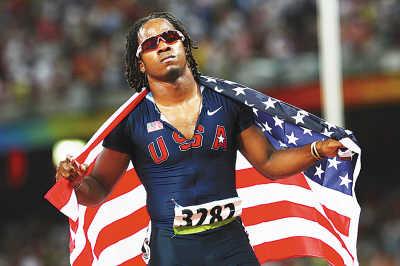 """理查德·汤普森(第二名):""""今天梦想成真了,我们的国旗一直在飘扬."""