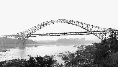 世界第一拱桥朝天门大桥通车 -人民日报-人民网图片