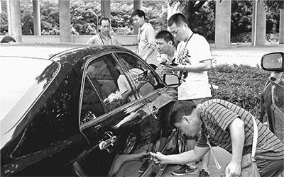 深圳/6月19日,深圳启动公车改革后首批公车拍卖,百台待拍车辆在...