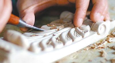 千年茶文化结合石雕木雕产生灵动的生命[图]