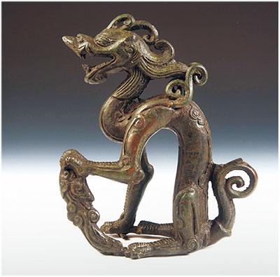 威武猛犸象 吟啸铜坐龙(美哉·华夏博物之旅) - 人在上海    - 中国新闻画报