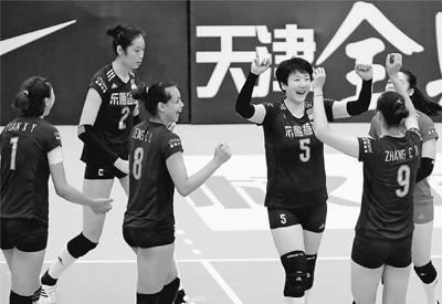 女排亚锦赛中国队五战全胜晋级淘汰赛