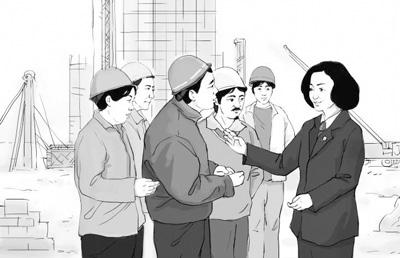 """贾春梅代表的检察长""""讨薪""""记(法治故事会)"""