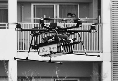 """""""飞""""起来的产业:全球商用无人机"""