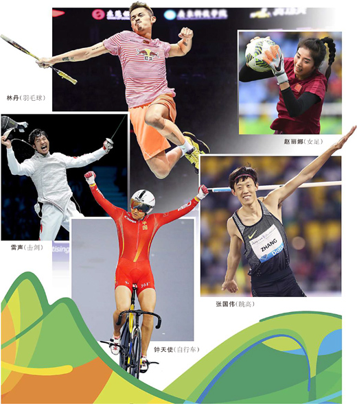 """中国奥运军团 从容应对""""大考""""(直击里约) - 行走并凝思着 - 行走并凝思着"""