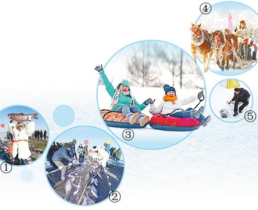 冬 捕   拉起丰收的红网   本报记者 张 枨   冬日凌晨3点的乌梁素海,天色黑黢黢的,寒风凛冽,湖水早已结成了厚达半米的冰面。这时,一群渔工不畏严寒,拉着长达千米的渔网和捕工具出现在冰面上,他们是为了乌梁素海新年第一场冬捕而来。   冬捕,是一种传统的冬季渔业生产习俗,在内蒙古和东北地区具有悠久的历史,早在史前便已有之,盛行于辽金时期,直到今天依然在传承。如今,冬捕更被人们赋予了迎接新年、讨得彩头的新寓意。   乌梁素海,位于美丽的内蒙古巴彦淖尔市乌拉特前旗境内,素有塞外明珠塞外都江堰