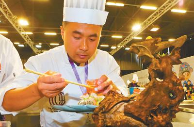 中餐走出去 特色美味吸引海外粉丝