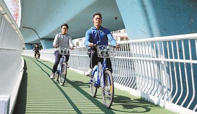 """骑行如何不堵心(聚焦・""""健康城市""""还缺啥①)"""