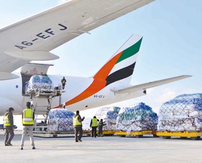 雪中送炭 中国向阿富汗政府提供雪灾人道主义援助物资