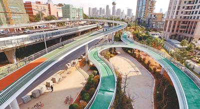 探访厦门空中自行车道(绿色焦点)