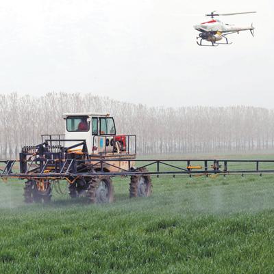农田机械设备结构图