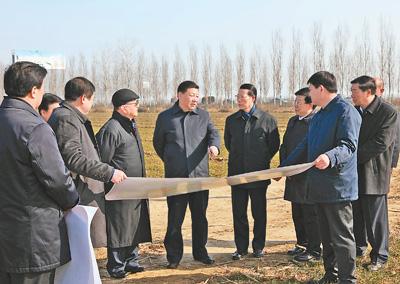 千年大计、国家大事——以习近平同志为核心的党中央决策河北雄安新区规划建设纪实