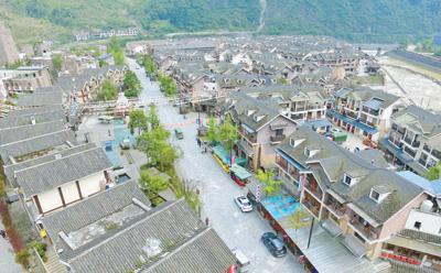 汶川地震九年 震中映秀巨变