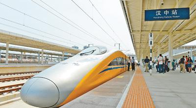 首条穿越秦岭高速铁路西成高铁陕西段联调联试