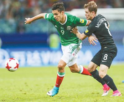 联合会杯小组赛 墨西哥队胜新西兰队