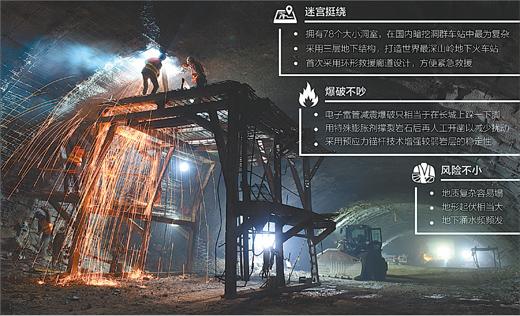 """揭秘""""超级工程"""":八达岭长城下打隧道"""