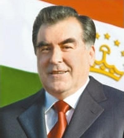 塔吉克斯坦共和国总统拉赫蒙