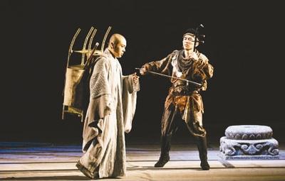 民族器乐剧《玄奘西行》:民乐也有国际范