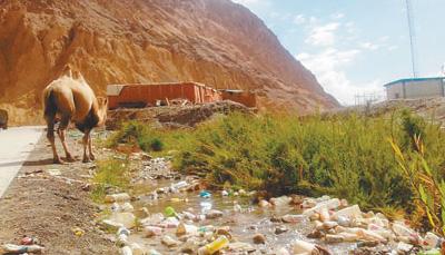 曝光台:昆仑山几大宿营点污水横流 垃圾成堆