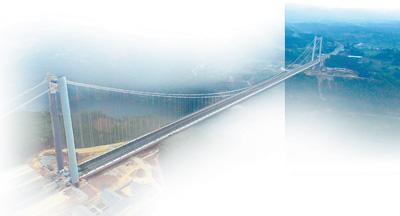 桥 连起风景的风景