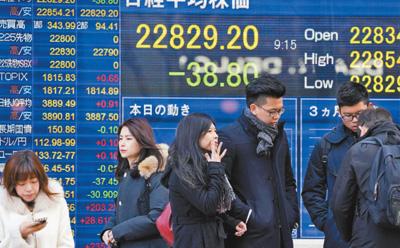 日本经济持续缓慢复苏(主要经济体年度盘点)