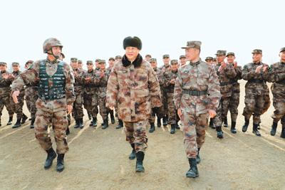 习近平:大抓实战化军事训练 打造精锐作战力量