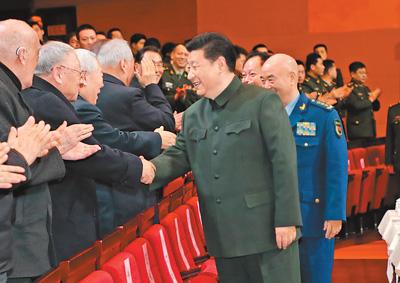 军委主席习近平向全军老同志祝贺新春