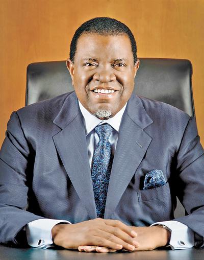 纳米比亚共和国总统根哥布